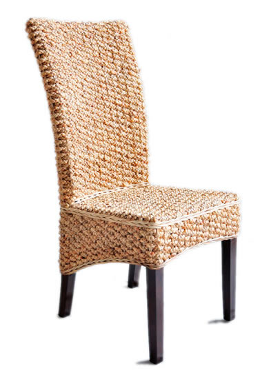 Great ... Water Hyacinth Dining Chair ...